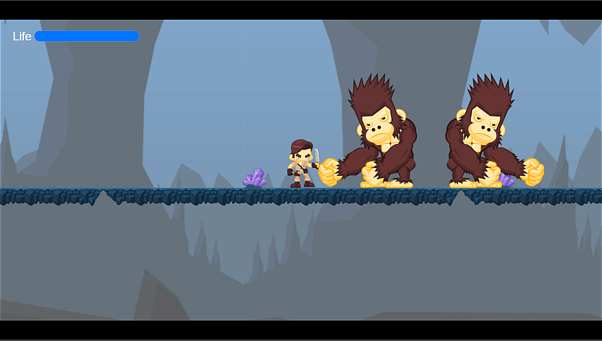 Cave Adventure Platformer
